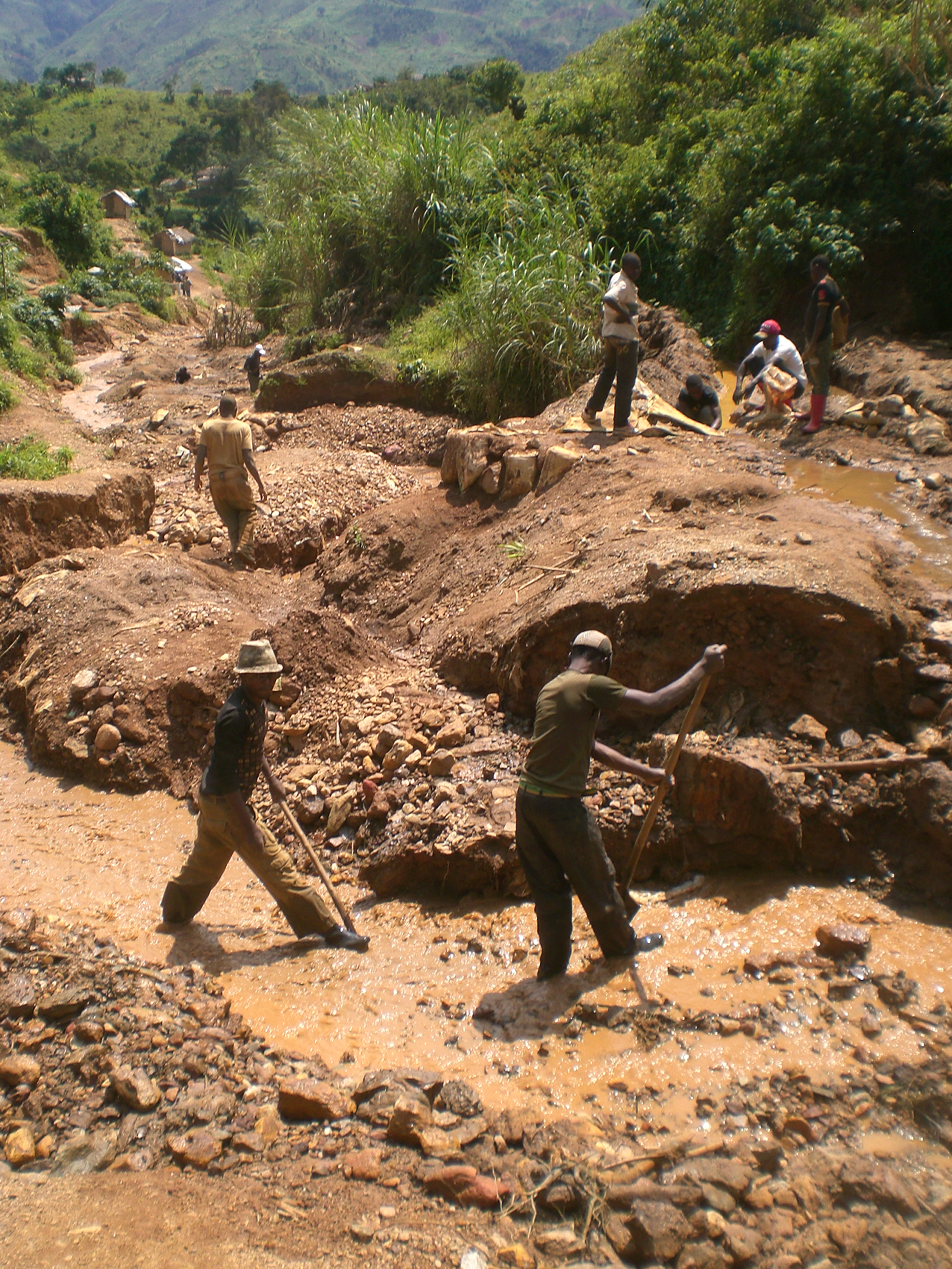 Conflict mineral mining in georgia