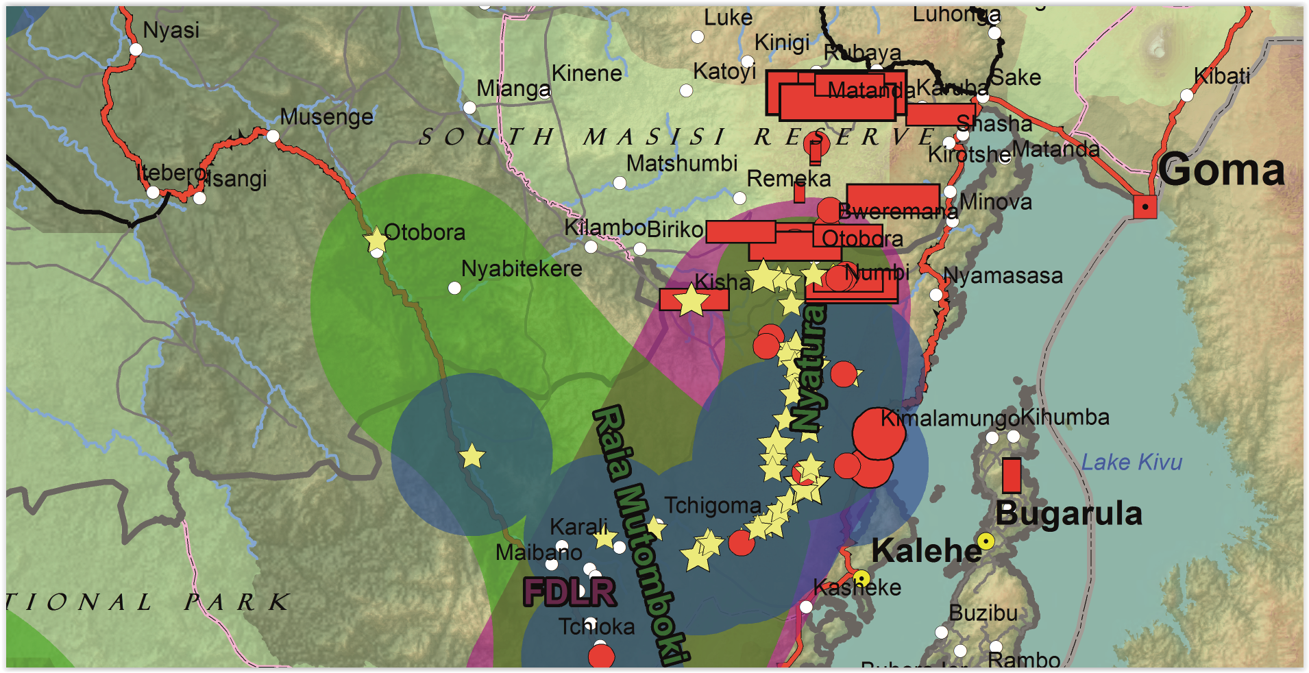 Conflict Minerals Map Mapping Conflict Minerals in