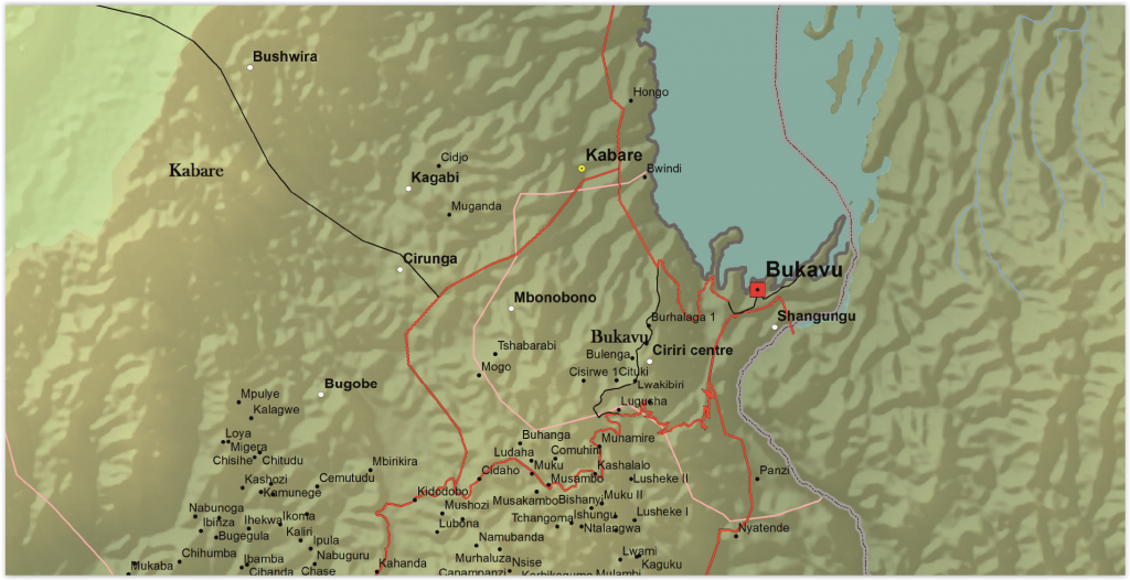 Kabare Territory, South Kivu Province, DRC (Detail)