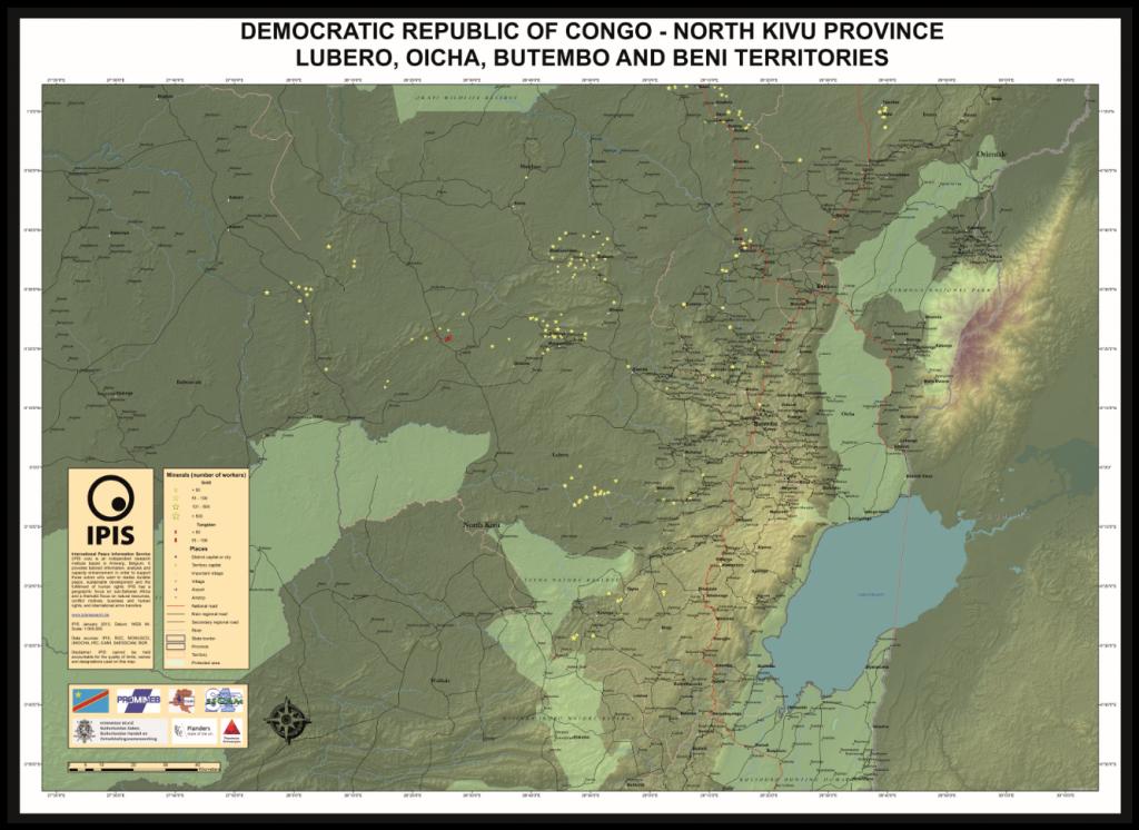 Lubero, Oicha, Butembo and Beni Territories, North Kivu Province, DRC