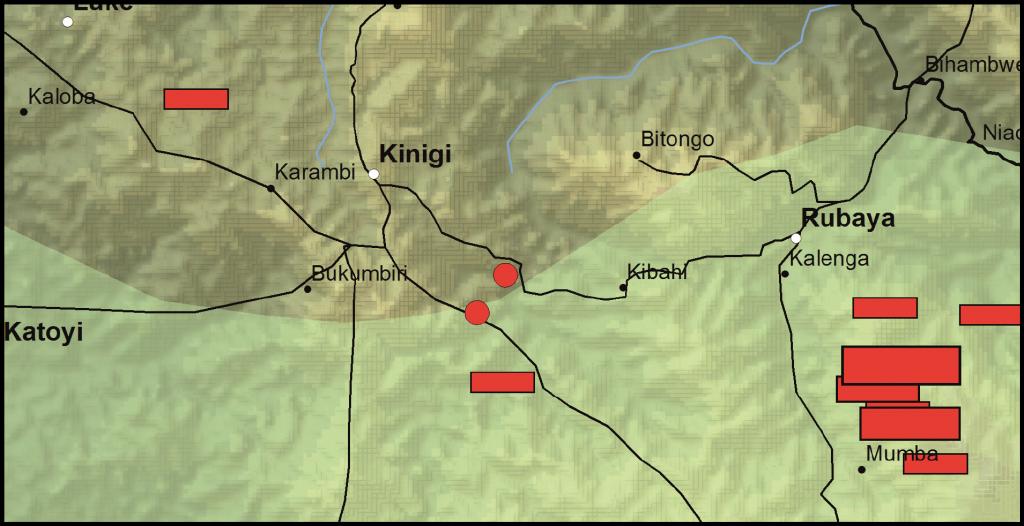 Masisi Territory, North Kivu Province, DRC (Detail)