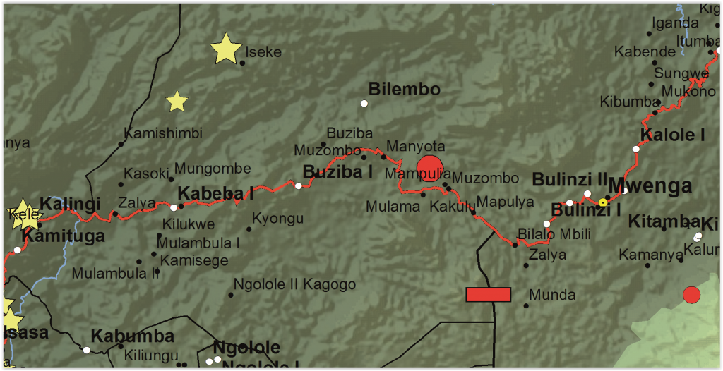 Mwenga Territory, South Kivu Province, DRC (Detail)