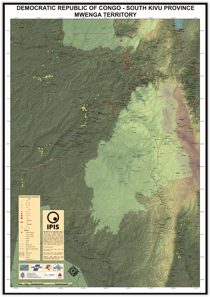 Mwenga Territory, South Kivu Province, DRC
