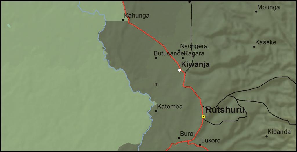 Rutshuru Territory, North Kivu Province, DRC (Detail)