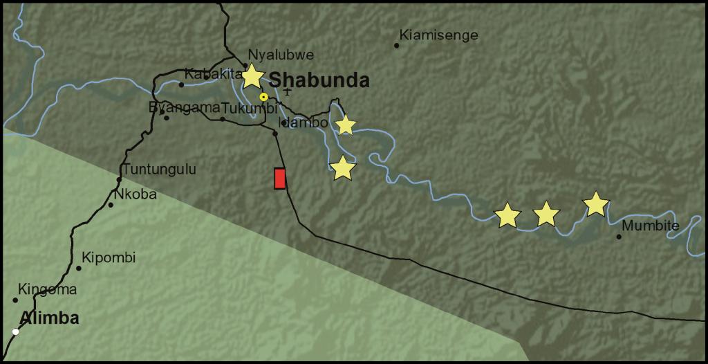 Shabunda Territory, South Kivu Province, DRC (Detail)