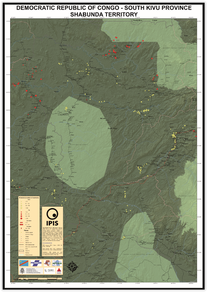 Shabunda Territory, South Kivu Province, DRC