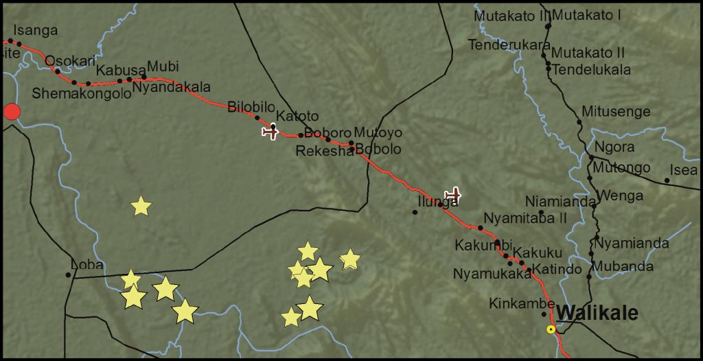 Walikale Territory, North Kivu Province, DRC (Detail)