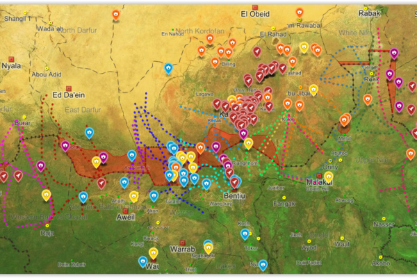 Maps of South Sudan