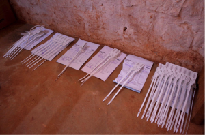 ITSCi tags on the mining site of Rutongo, Rwanda