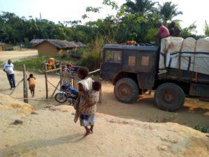 Roadblocks Kivu