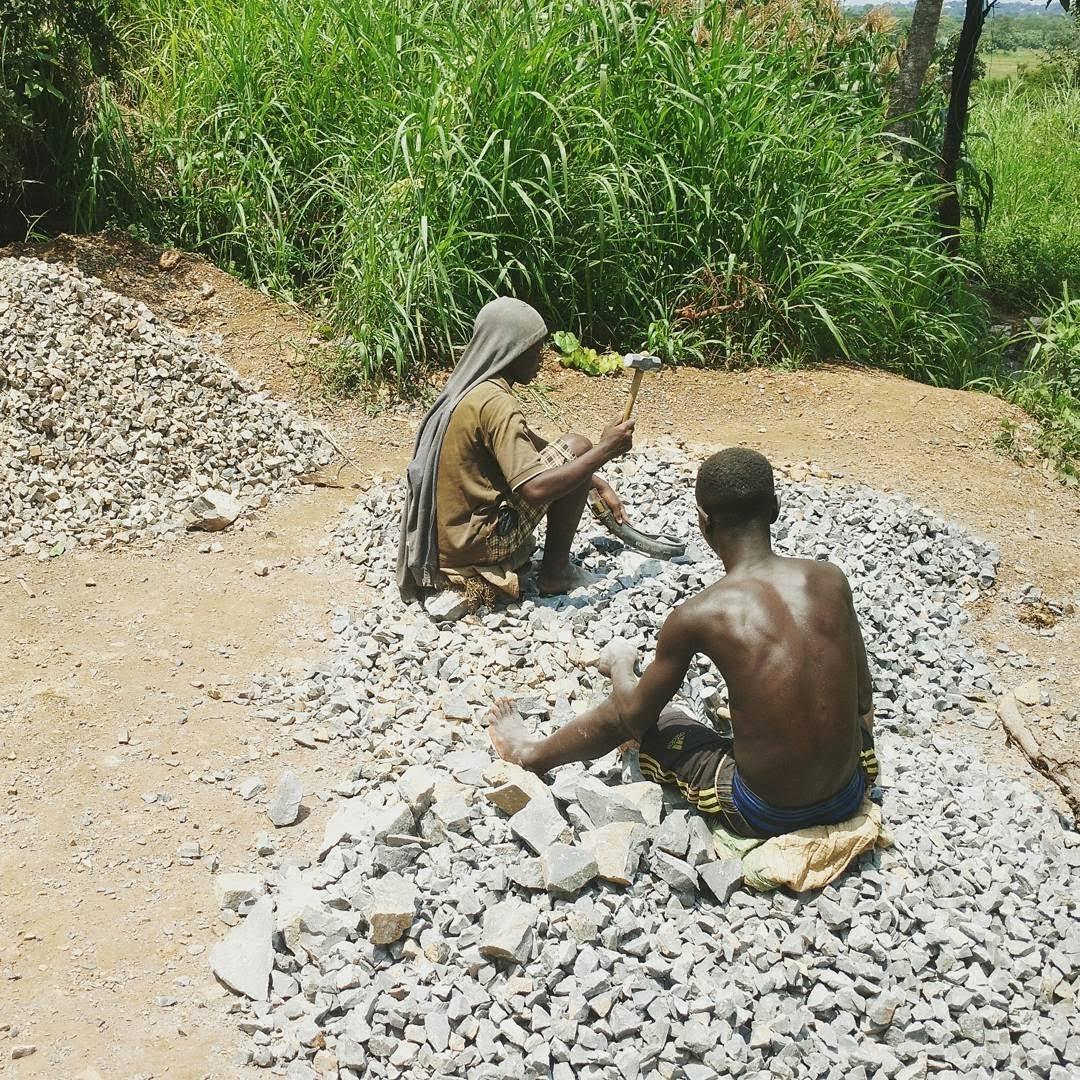 Mobile data collection on mining sites in Kigoma, Tanzania