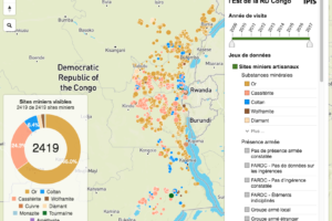 Interactive map of artisanal mining exploitation in eastern ...