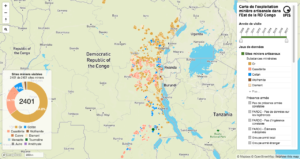 Interactive map of artisanal mining exploitation in eastern ...