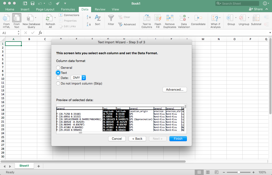 Open Data Getting Started using Excel - IPIS