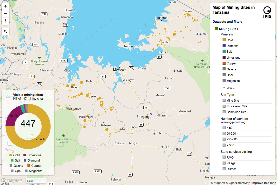 Mapping artisanal and small-scale mining in northwest
