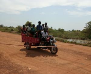 Roadblocks South Sudan