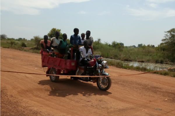 Roadblocks South Sudan