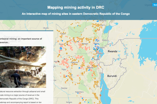 Story map DRC