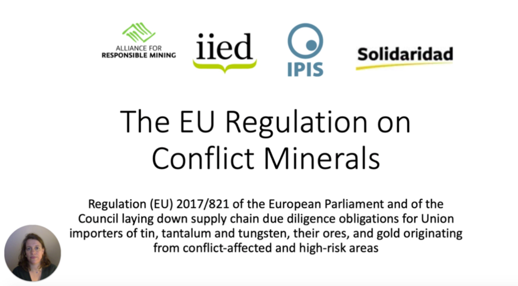 EU Conflicts Minerals Regulation