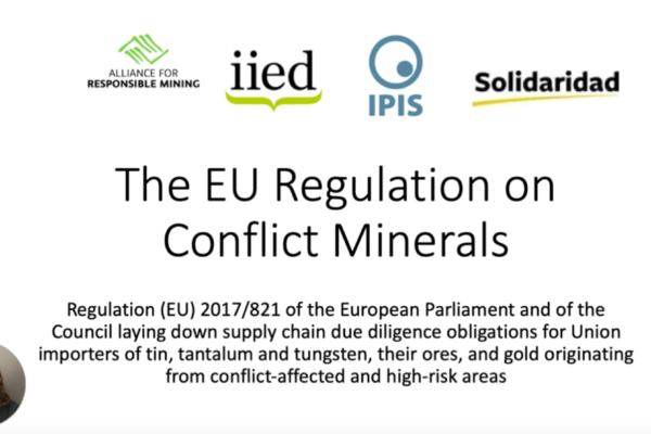 EU Conflicts Minerals Regulation
