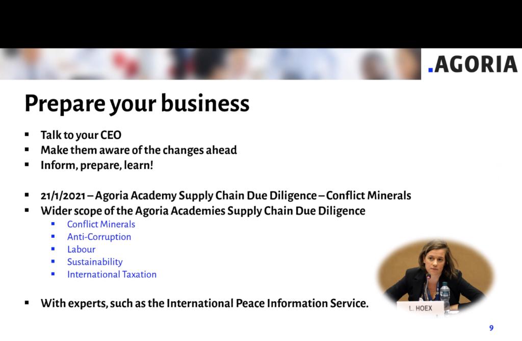 Agoria Academy powerpoint slide