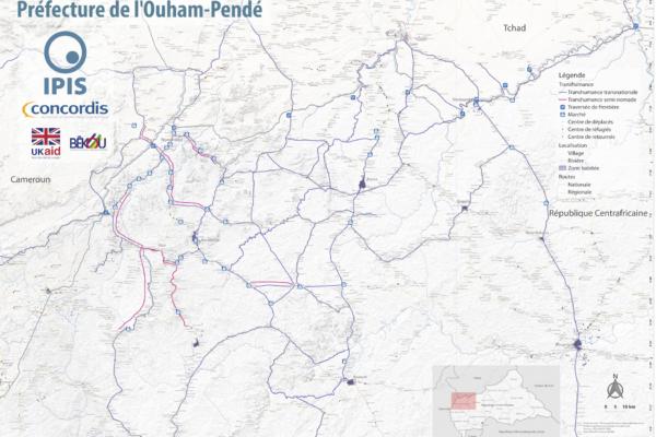 Map Pastoralism Ouham Pendé