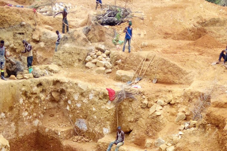 Pic4_Gold mine in Maniema province